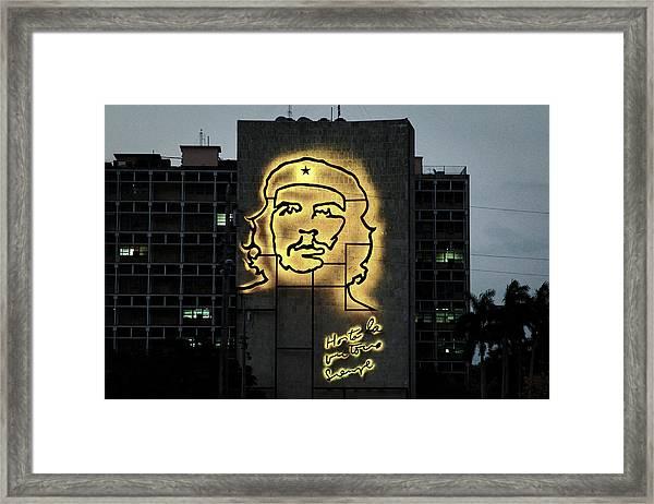 Che Guevera II Framed Print