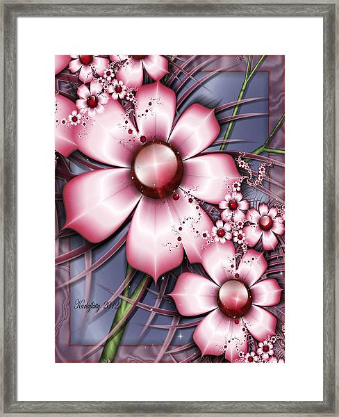 Cherry Candy Framed Print