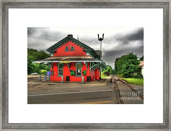 Chester Station Framed Print