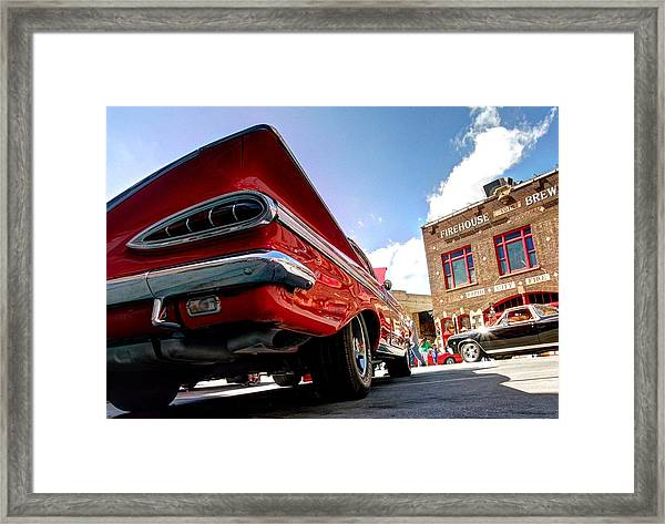 Chevy Town Framed Print