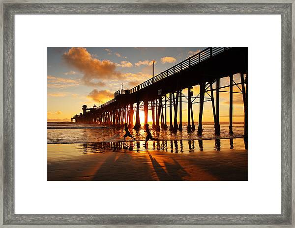 Child's Play Framed Print by Donna Pagakis
