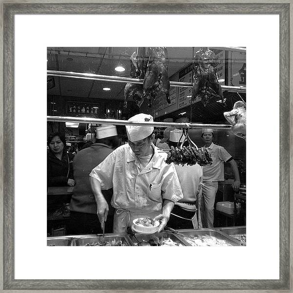 Chinatown - New York Framed Print