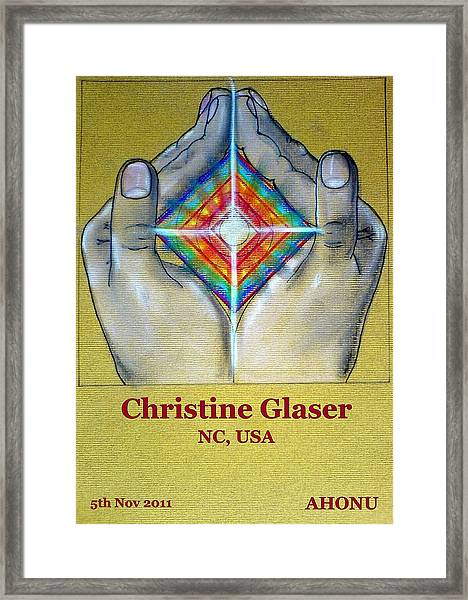 Christine Glaser Framed Print
