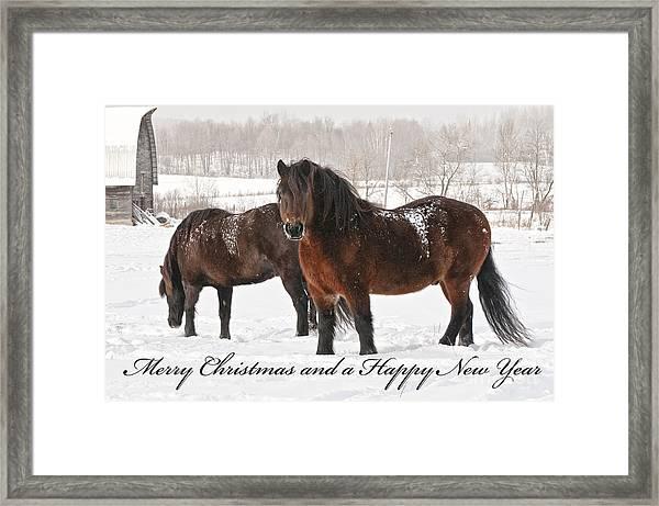 Christmas 8 Framed Print