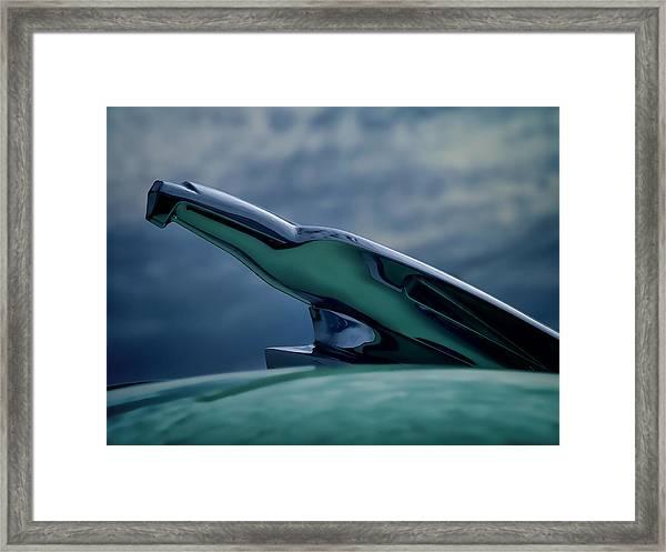 Chrome Eagle Framed Print