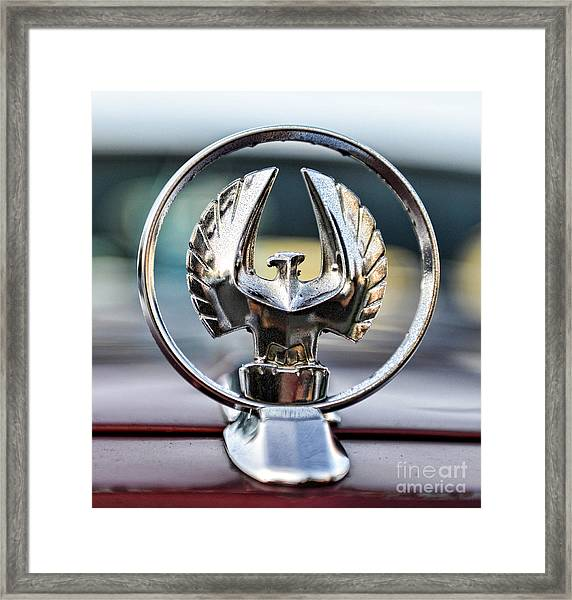 Chrysler Imperial Hood Ornament Framed Print