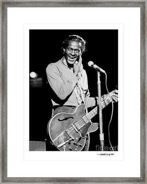Chuck Berry 1 Framed Print