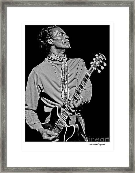 Chuck Berry 2 Framed Print