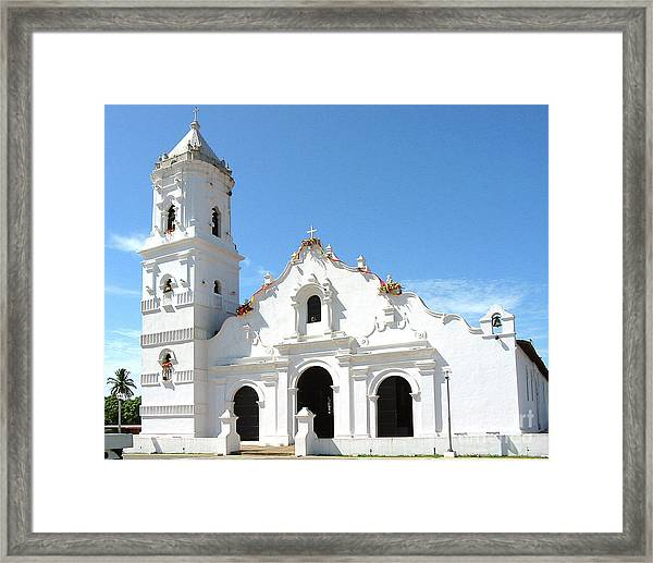 Church Of Nata De Los Caballeros Framed Print