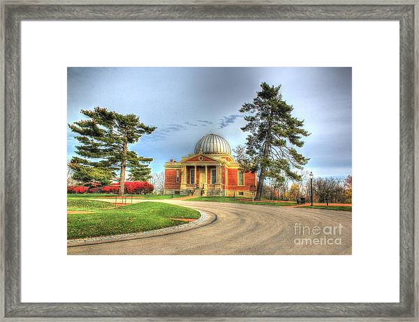 Cincinnati Observatory Framed Print