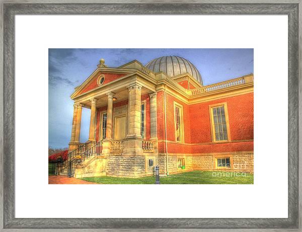 Cincinnati Observatory Up Close Framed Print