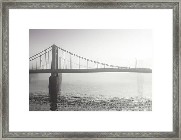 City Of Bridges Framed Print by Jason Heckman