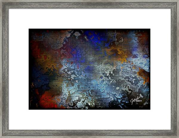 City Of Man Framed Print