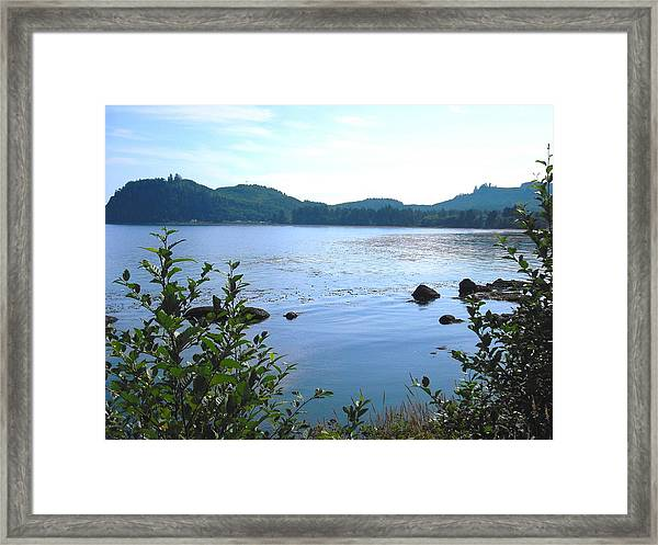Clallam Bay Framed Print