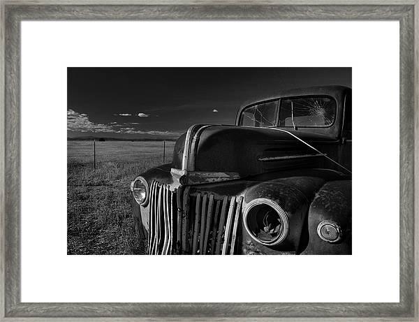 Classic Rust Framed Print