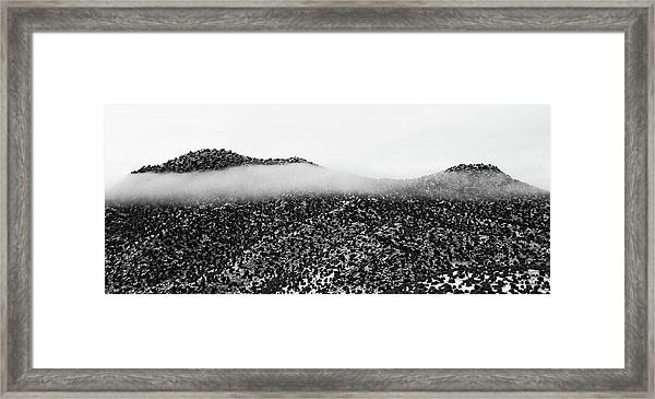 Cloud Blanket Framed Print