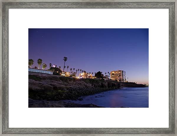Coastal Sunset Framed Print