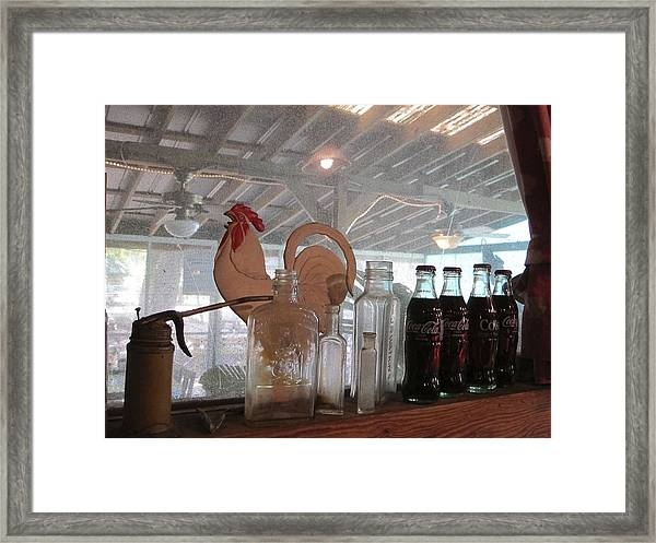 Framed Print featuring the photograph Cococola by Ralph Jones