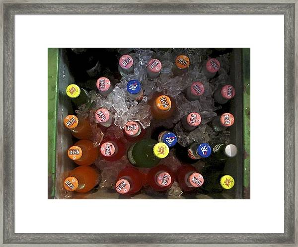 Cold Drink Framed Print