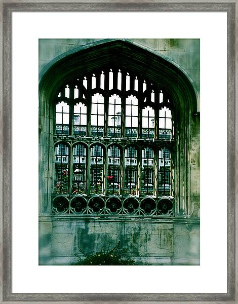 Framed Print featuring the photograph College Days by HweeYen Ong