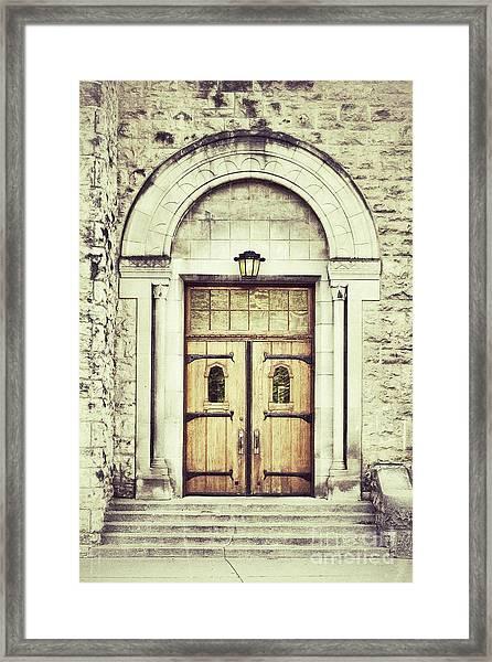 Collegiate Framed Print