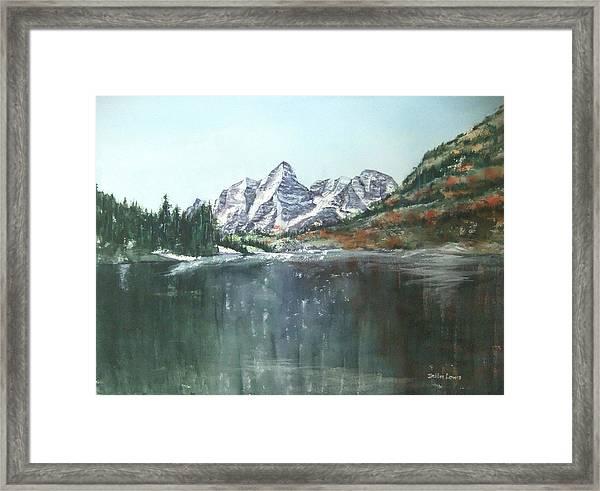 Colorado Beauty Framed Print