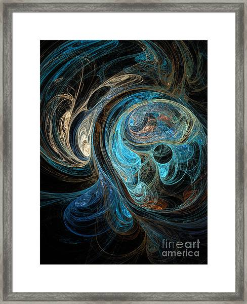 Colors Of The Ocean Framed Print