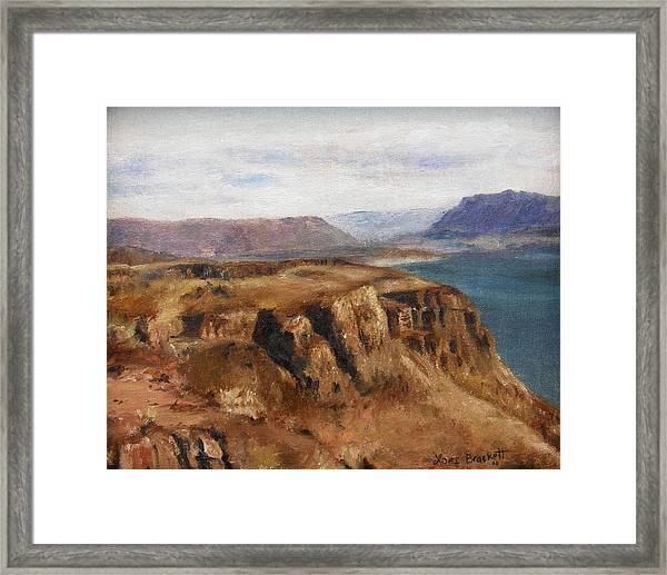 Columbia River Gorge I Framed Print