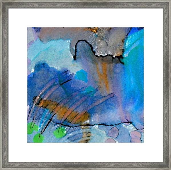 Coming Into Being II Framed Print