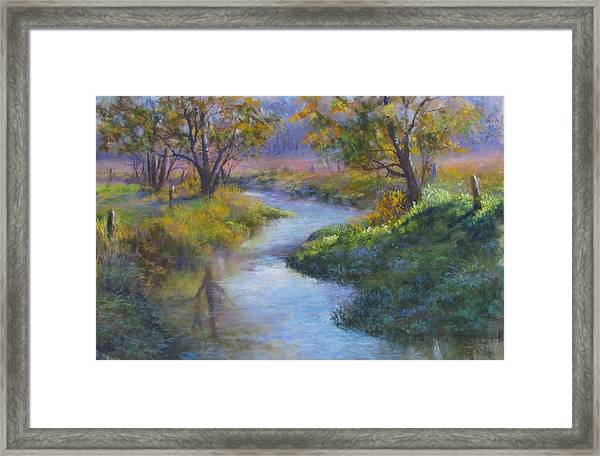 Compliments Of Fall Framed Print