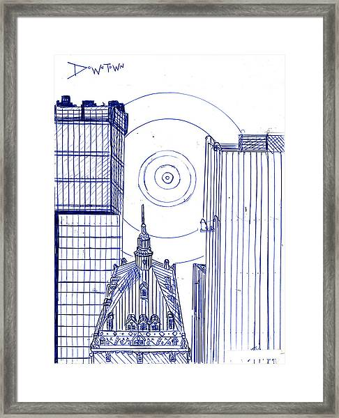 Connections Framed Print by Harry Richards