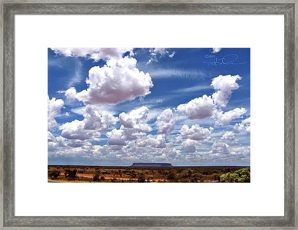 Conner's Rock Framed Print