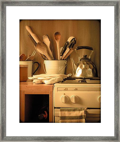 Athens, Greece - Cook's Tools Framed Print