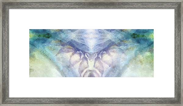 Cool Hues Diptych Framed Print