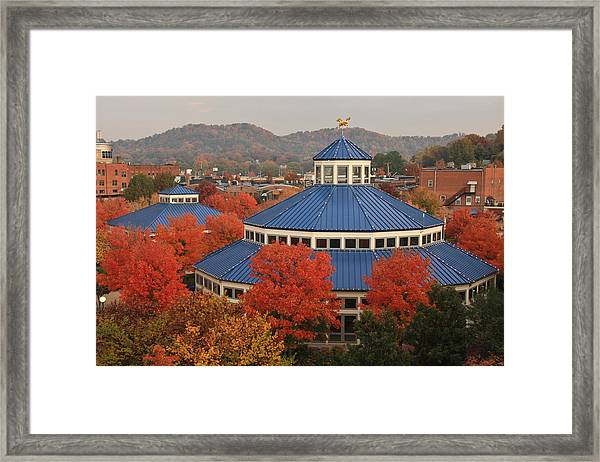 Coolidge Park Carousel Framed Print