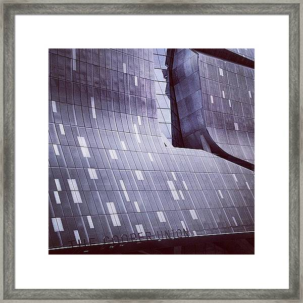 Cooper Union Framed Print