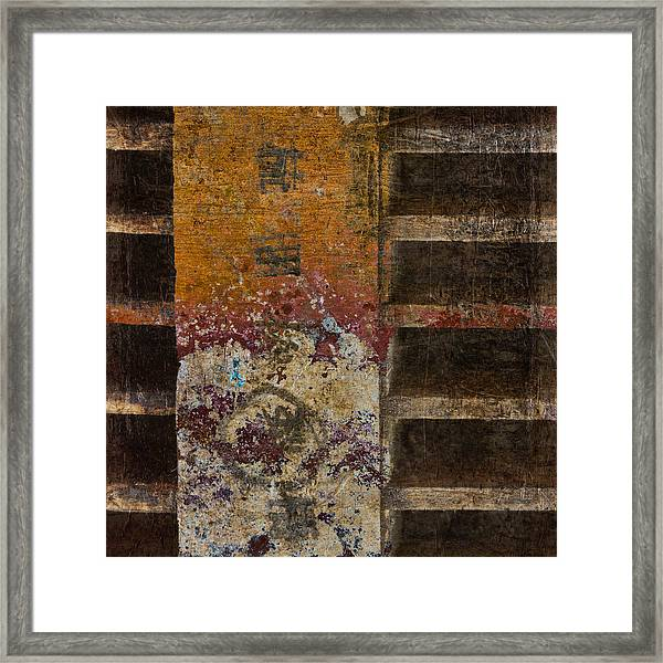 Copperwood Square Framed Print
