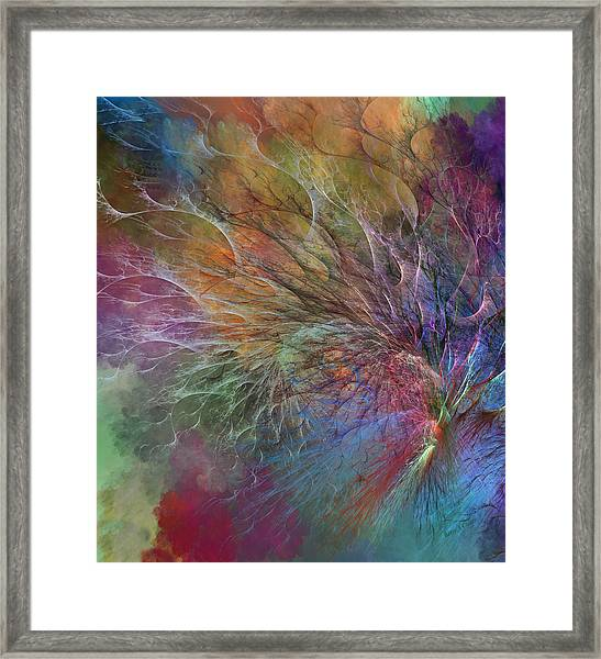 Coral Depths Framed Print