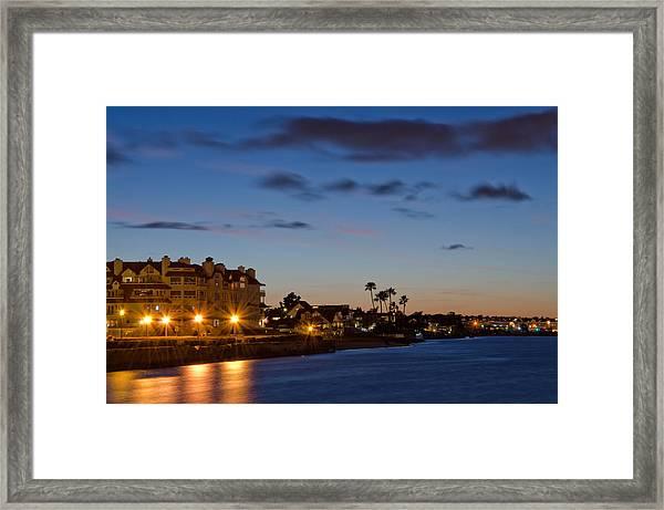 Coronado Sunset Framed Print