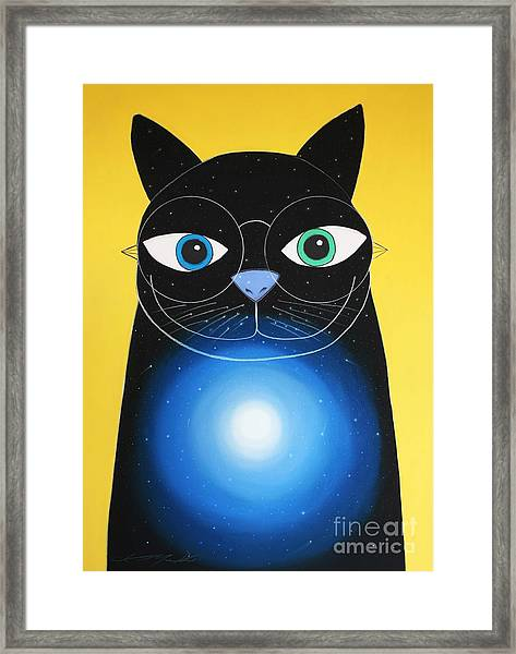 Cosmo Framed Print