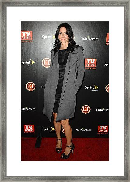 Courteney Cox At Arrivals For Tv Guides by Everett