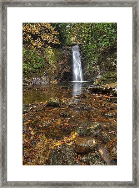 Courthouse Falls Framed Print
