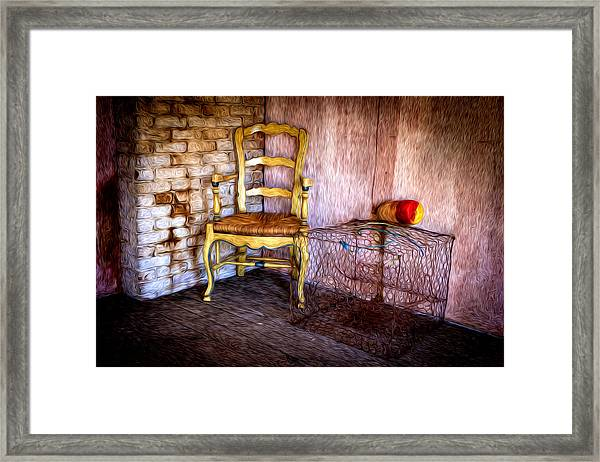 Framed Print featuring the photograph Crabbers Corner by Williams-Cairns Photography LLC