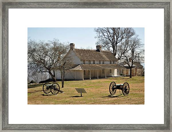 Cravens House Lookout Mountain Framed Print