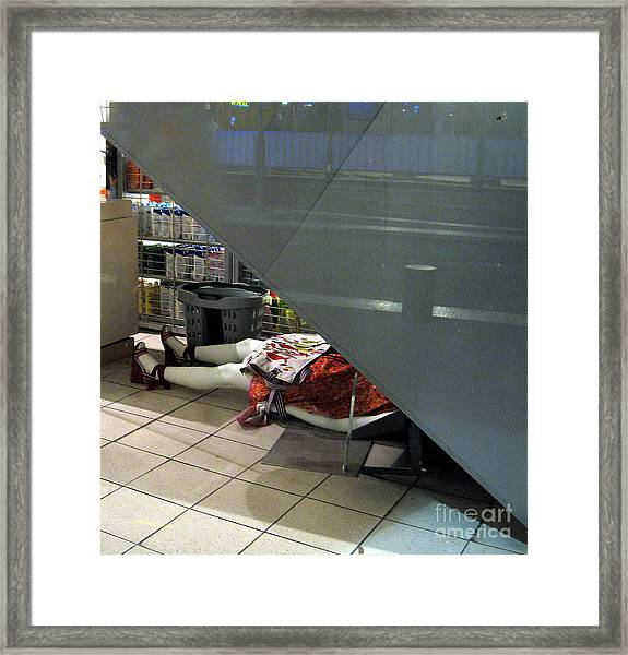 Crime Framed Print by Yury Bashkin