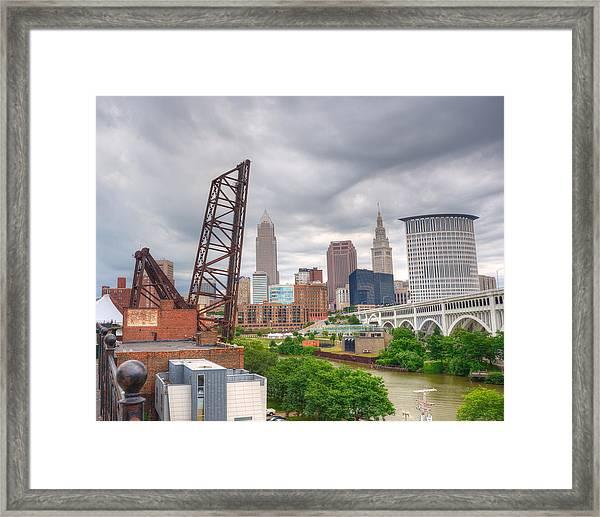 Crooked River Bridge Framed Print