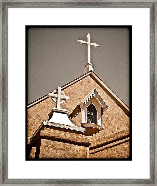 Cross Gable Framed Print