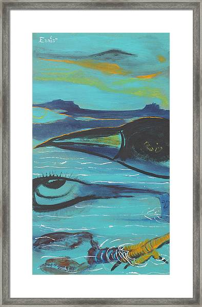 Crow And Craw Framed Print
