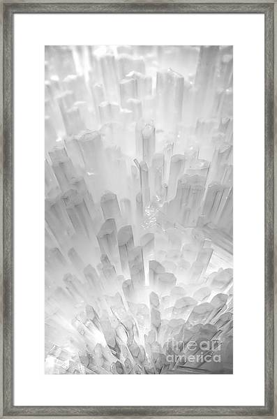 Crystal City Framed Print