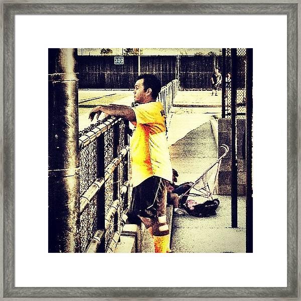 #cuban #filipino #softball #summer Framed Print